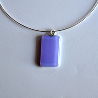 LAVENDER pendant with 18