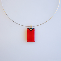 SCARLET pendant with 18